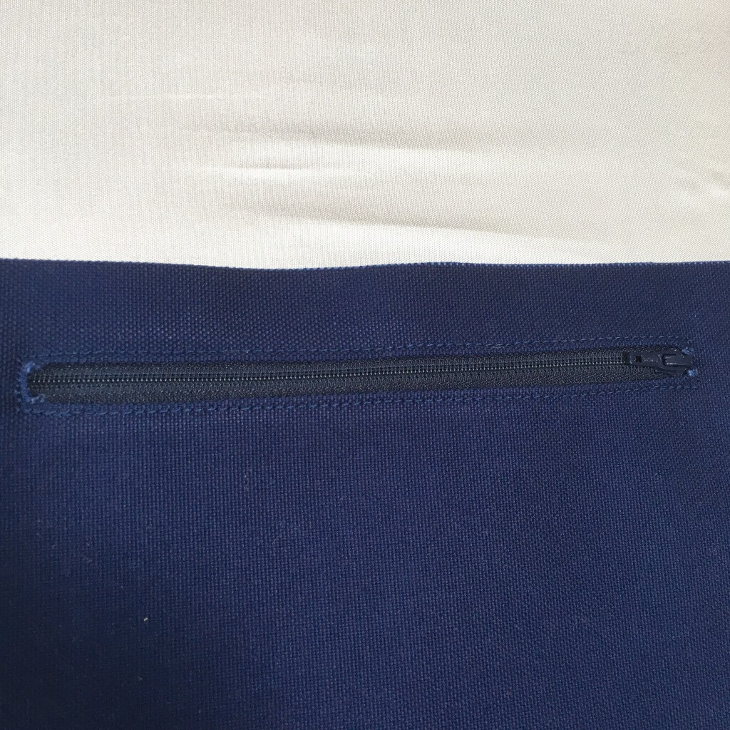 財布ポケット口のファスナー2