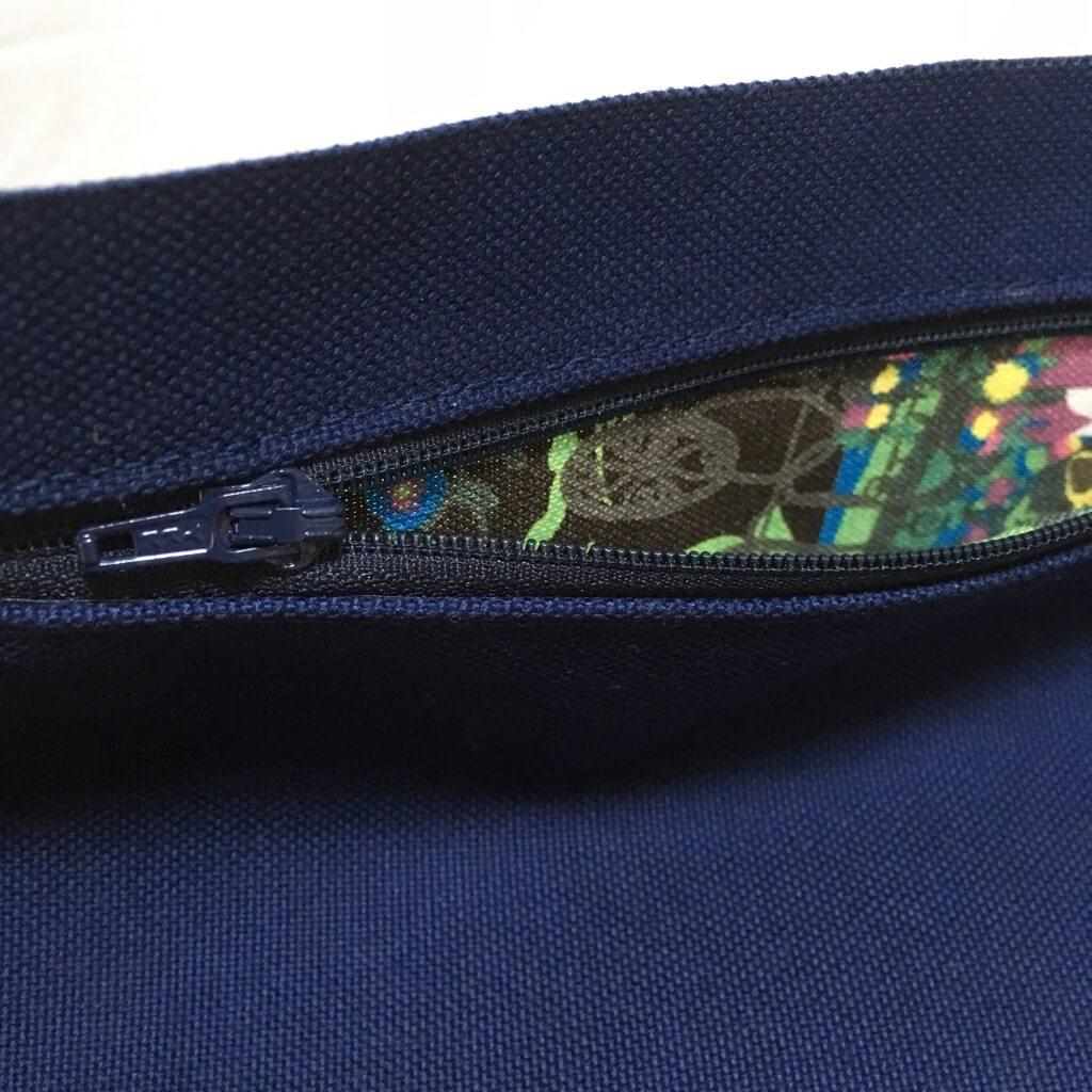 ポケットの内布