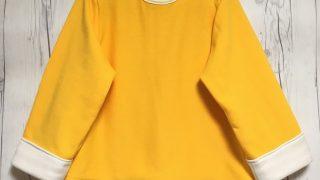 20181012チャオズの黄色長袖服・表