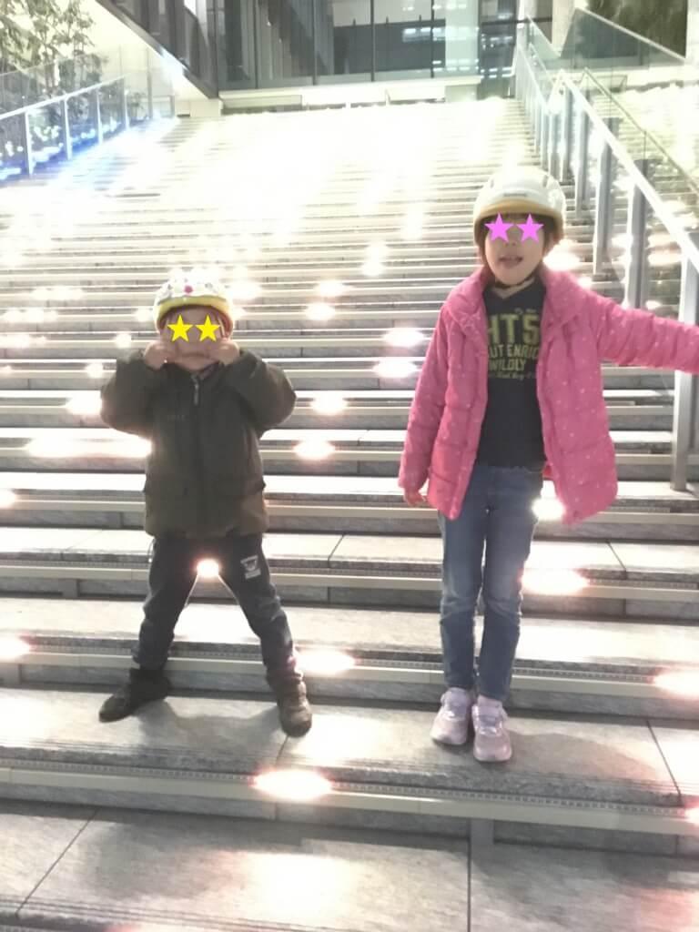 20181227大階段のイルミネーション