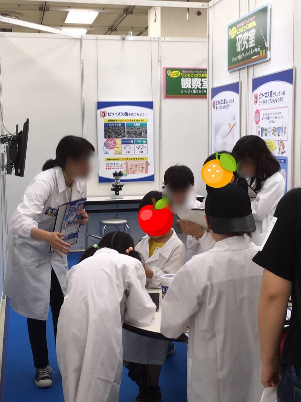 20190815こどもビヒダス研究所試食