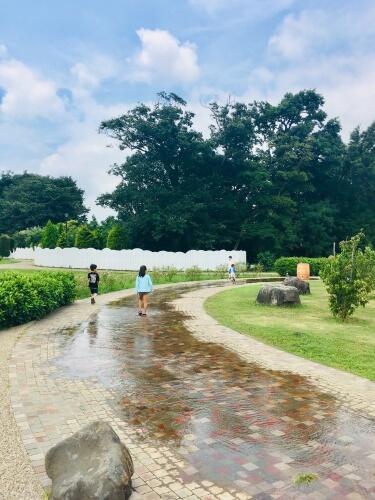 20190822アンデルセン公園せせらぎ