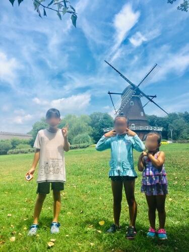 20190822アンデルセン公園風車