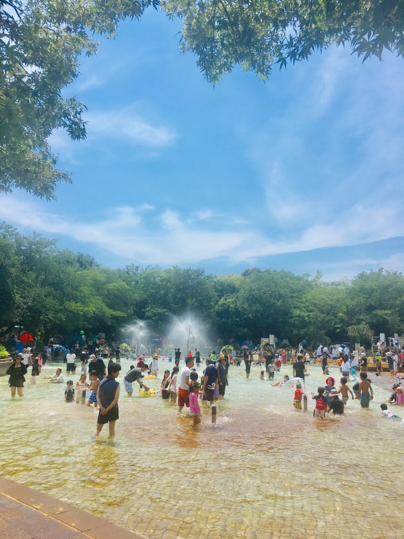 20190822アンデルセン公園にじの池