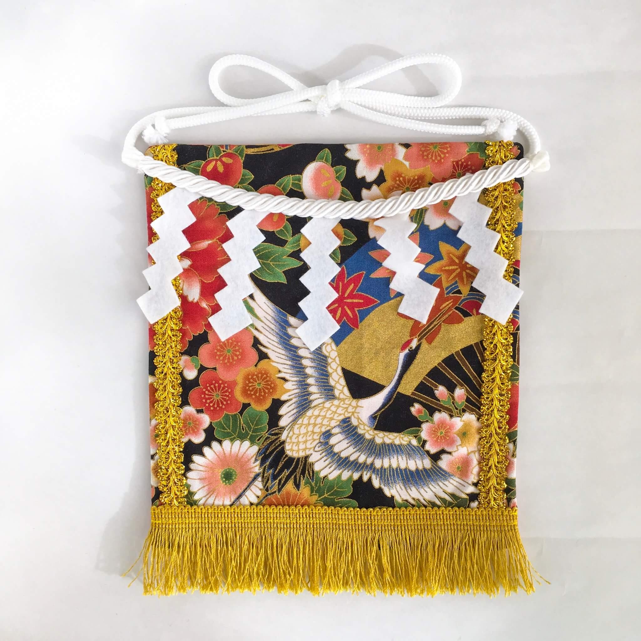20190928赤ちゃん化粧まわし・雅な花と扇と鶴