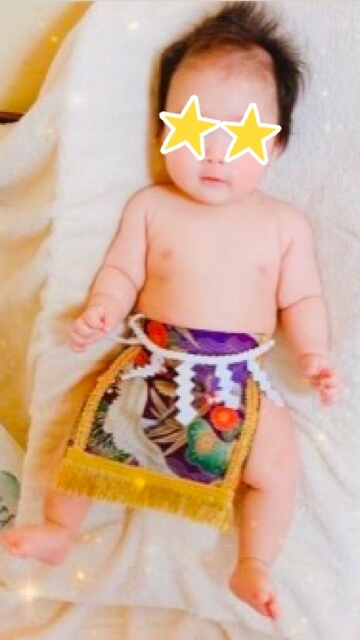 20191125赤ちゃん化粧まわし着画像