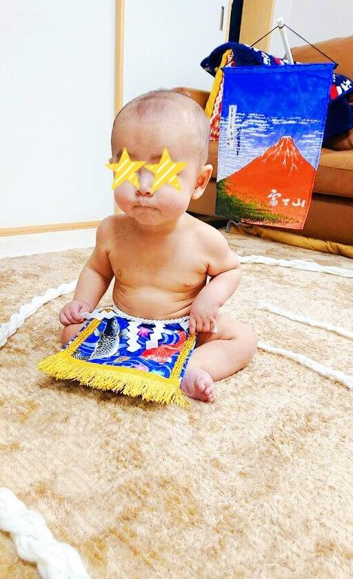 20191202赤ちゃん化粧まわし着画像1
