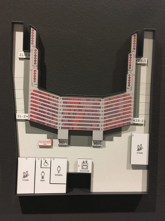 20200131バービーボーイズ渋谷公会堂LIVE2階座席図