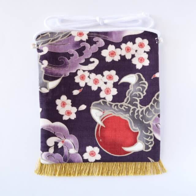 20200329えびすこくん・大龍と桜吹雪・紫2