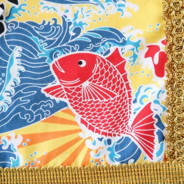 20200329えびすこくん・黄色い大漁旗4