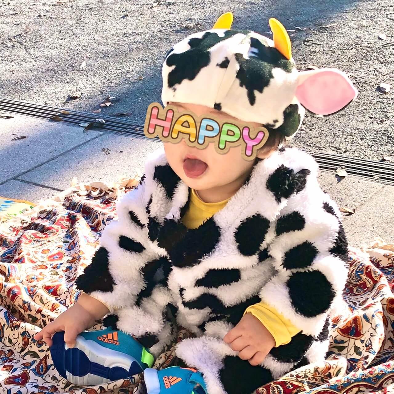 20201128牛さん帽子着画像1