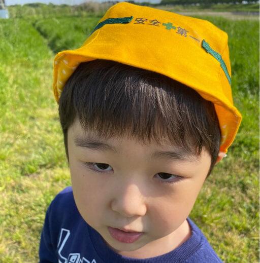 20210424ヘルメット風帽子着画像1