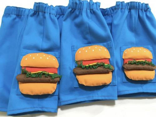 20200701ハンバーガーパンツサイズ比較