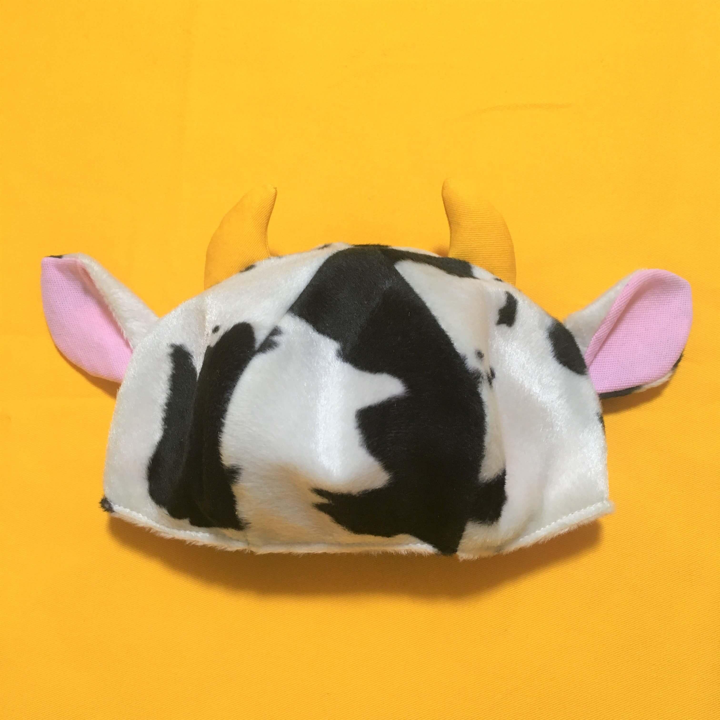 20201019牛柄帽子試作品第二号